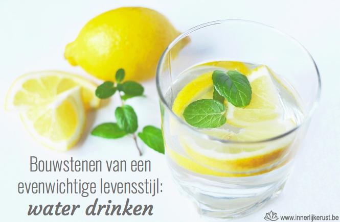 Water drinken gezond - Queenie gezondheidscoach